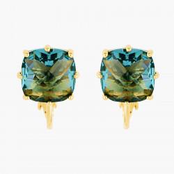 Boucles D'oreilles Clip Boucles D'oreilles Clip Pierre Carrée La Diamantine Acqua Azzura50,00€ ANLD101C/1Les Néréides