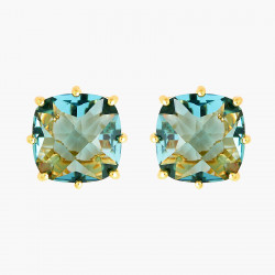 Boucles D'oreilles Tiges Boucles D'oreilles Tiges Pierre Carrée La Diamantine Acqua Azzura50,00€ ANLD101T/1Les Néréides