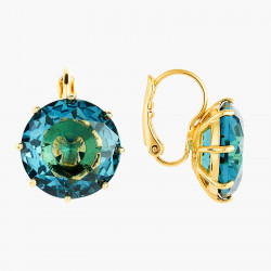 Boucles D'oreilles Dormeuses Boucles D'oreilles Dormeuses Pierre Ronde La Diamantine Acqua Azzura60,00€ ANLD140D/1Les Néréides
