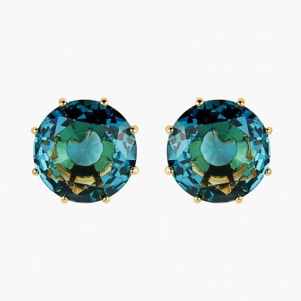 Boucles D'oreilles Tiges Boucles D'oreilles Tiges Pierre Ronde La Diamantine Acqua Azzura60,00€ ANLD140T/1Les Néréides