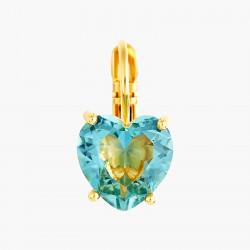Boucles D'oreilles Dormeuses Boucles d'oreilles dormeuses pierre cœur la diamantine acqua azzura50,00€ ANLD145D/1Les Néréides