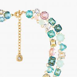 Colliers Plastrons Collier Deux Rangs Luxe La Diamantine Acqua Azzura590,00€ ANLD355/1Les Néréides