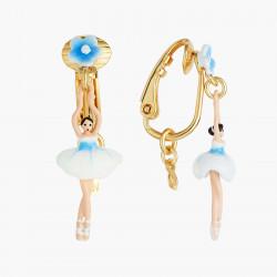 Boucles D'oreilles Clip Boucles D'oreilles Clip Mini Ballerine Fleur De Myosotis70,00€ ANMDD101C/1Les Néréides