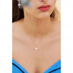 Colliers Pendentifs Collier Pendentif Mini Ballerine Fleur De Myosotis60,00€ ANMDD301/1Les Néréides