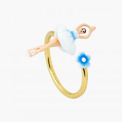 Bagues Ajustables Bague Ajustable Mini Ballerine Fleur De Myosotis60,00€ ANMDD601/1Les Néréides