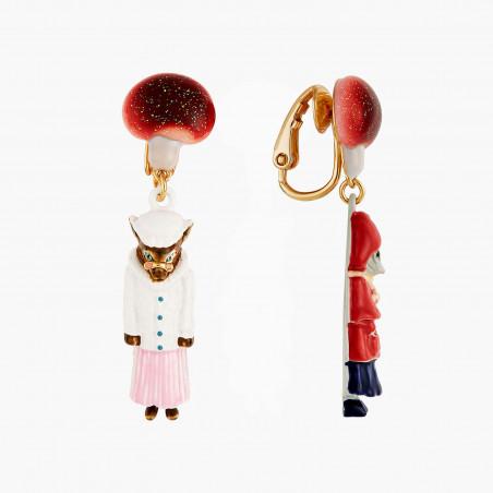 Bracelet luxe deux rangs terre de sienne