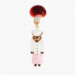 Boucles D'oreilles Originales Boucles D'oreilles Clip Petite Souris Le Petit Chaperon Rouge Et Le Grand Méchant Loup65,00€ A...