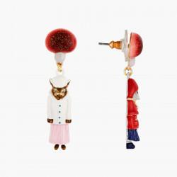 Boucles D'oreilles Originales Boucles D'oreilles Tiges Petite Souris Le Petit Chaperon Rouge Et Le Grand Méchant Loup65,00€ ...