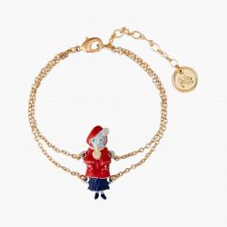 Bracelets Originaux Bracelet Petite Souris Le Petit Chaperon Rouge45,00€ ANNA201/1N2 by Les Néréides