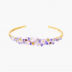 Bracelets Jonc Bracelet Jonc Fleurs De Glycine150,00€ ANOF202/1Les Néréides