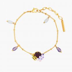 Bracelets Fins Bracelet Petite Glycine Et Pierre De Verre Facetté110,00€ ANOF203/1Les Néréides