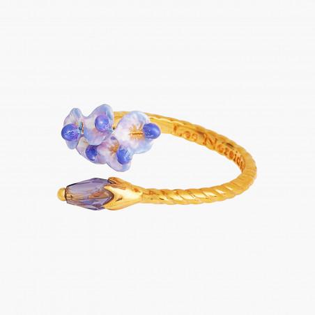 Bracelet ballerine dorée et pampilles