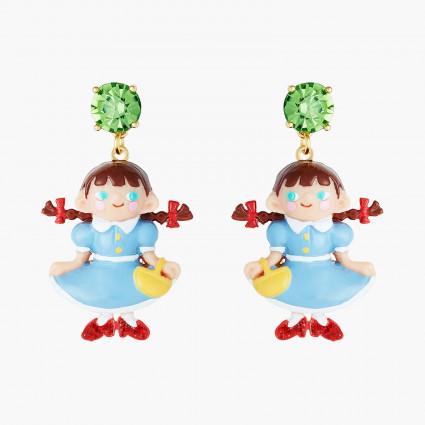 Boucles D'oreilles Originales Boucles d'oreilles tiges dorothy le magicien d'oz80,00€ ANOZ101T/1N2 by Les Néréides