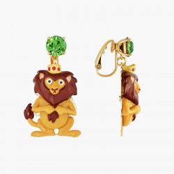 Boucles D'oreilles Originales Boucles D'oreilles Clips Le Lion Pereux Le Magicien D'oz80,00€ ANOZ102C/1N2 by Les Néréides