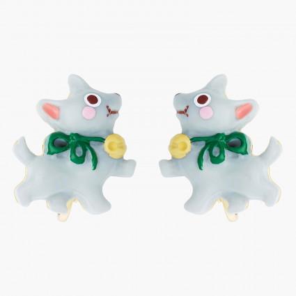 Boucles D'oreilles Originales Boucles d'oreilles clips chien toto le magicien d'oz50,00€ ANOZ105C/1N2 by Les Néréides