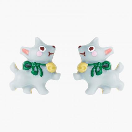 Boucles D'oreilles Originales Boucles d'oreilles tiges chien toto le magicien d'oz50,00€ ANOZ105T/1N2 by Les Néréides