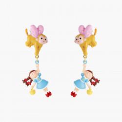 Boucles D'oreilles Originales Boucles D'oreilles Clips Dorothy Et Le Singe Volant Le Magicien D'oz85,00€ ANOZ107C/1N2 by Les...
