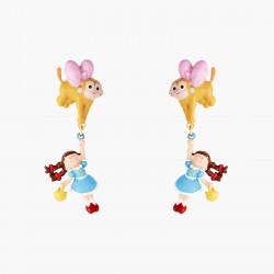 Boucles D'oreilles Originales Boucles D'oreilles Tiges Dorothy Et Le Singe Volant Le Magicien D'oz85,00€ ANOZ107T/1N2 by Les...
