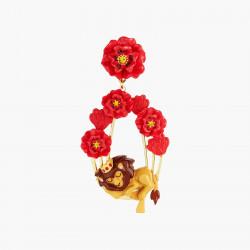 Boucles D'oreilles Originales Boucles D'oreilles Tiges Asymétriques Dorothy Et Le Lion Peureux Le Magicien D'oz95,00€ ANOZ10...