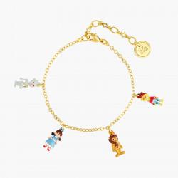 Bracelets Originaux Bracelet charm's homme de fer, dorothy, lion et épouventail le magicien d'oz65,00€ ANOZ204/1N2 by Les Né...