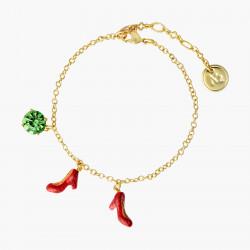 Bracelets Originaux Bracelet Charm's Verre Facetté Et Souliers Le Magicien D'oz55,00€ ANOZ205/1N2 by Les Néréides