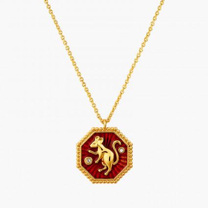 Colliers Pendentifs Collier Pendentif Signe Du Zodiaque Rat95,00€ ANZA301/1Les Néréides