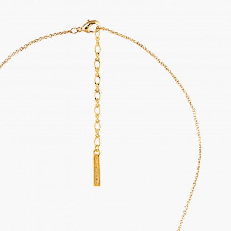 Bracelet porte-bonheur coccinelle et pierre