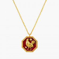 Rooster zodiac sign pendant...