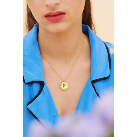 Multi ladybirds necklace