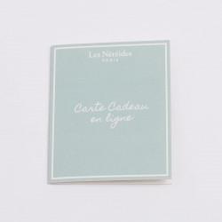 Accessoires - Autre Carte Cadeau En Ligne - Petit Bleuet0,00€ ONLINEGIFTCARD/1Les Néréides