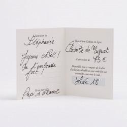 Accessoires - Autre Carte Cadeau En Ligne - Clochette De Muguet0,00€ ONLINEGIFTCARD/2Les Néréides