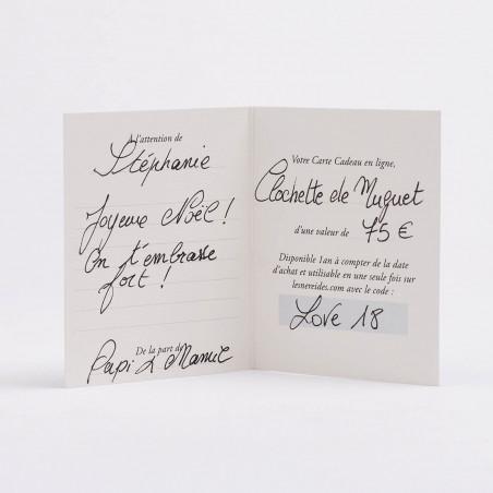 Collier couture La Diamantine trois rangs