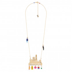Colliers Collier Hello New York Et Pampilles Emblématiques