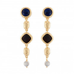 Earrings With Long Stones,...