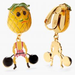 Boucles D'oreilles Originales Boucles D'oreilles Clips Ananas Fruit Circus70,00€ ANFC106C/1N2 by Les Néréides