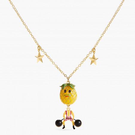 Bracelet semi-perlé inséparable et petit cœur