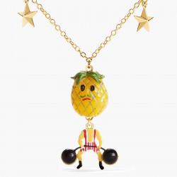 Colliers Originaux Collier pendentif ananas porteur fruit circus75,00€ ANFC306/1N2 by Les Néréides