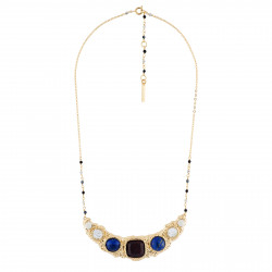 5 Stones Collar Necklace