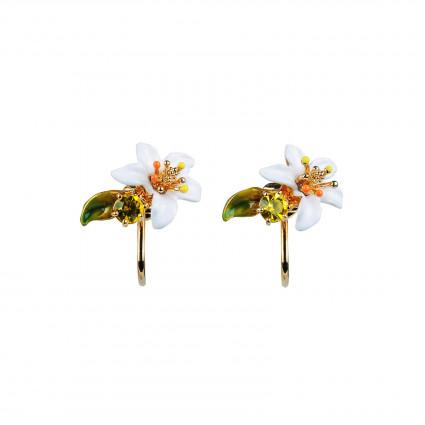 Boucles D'oreilles Clip Boucles D'oreilles Clip Fleur D'oranger70,00€ ABJP113C/1Les Néréides