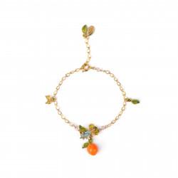 Bracelets Fins Bracelet fin orange et petites feuilles70,00€ ABJP203/1Les Néréides