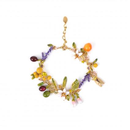 Bracelets Charms Bracelet Fin Bouquet Du Jardin De Provence195,00€ ABJP206/1Les Néréides
