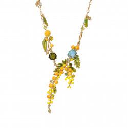 Colliers Plastrons Collier Plastron Branches De Mimosa, Fougères Et Petites Feuilles195,00€ ABJP302/1Les Néréides