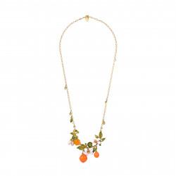 Orange blossoms and oranges...