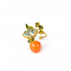 Orange and stones...