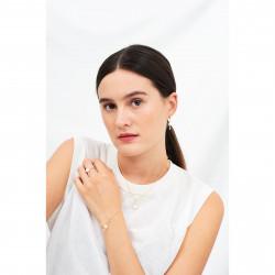 Bracelets Fins Bracelet mini ballerine en tutu blanc50,00€ AFMDD201/1Les Néréides
