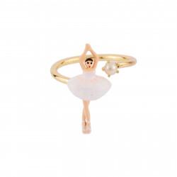 Bagues Ajustables Bague ajustable mini ballerine en tutu blanc60,00€ AFMDD601/1Les Néréides