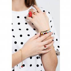 Bracelets Originaux Bracelet jonc coucou les 7 nains65,00€ AHBN203/1N2 by Les Néréides