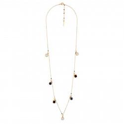 7 Little Stones Long Necklace