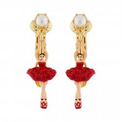 Boucles D'oreilles Clip Boucles D'oreilles Clip Mini Ballerine En Tutu Pavé De Strass Rouges80,00€ AHMDD101C/8Les Néréides