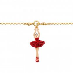 Bracelets Fins Bracelet Mini Ballerine En Tutu Pavé De Strass Rouges60,00€ AHMDD201/8Les Néréides